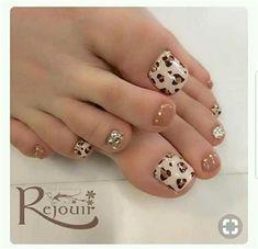 Pretty Toe Nails, Cute Toe Nails, Pretty Toes, Diy Nails, Swag Nails, Cute Toes, Toe Nail Color, Toe Nail Art, Long Nails
