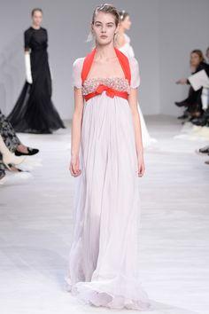 Giambattista Valli Spring 2016 Couture Fashion Show - very pride and prejudice era