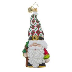 Gnome For The Holidays Ornament by Christopher Radko