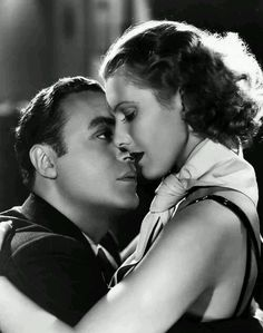 Jean Arthur and Charles Boyer