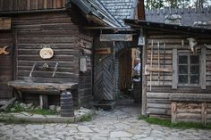 Viking Village in Harju, Estonia