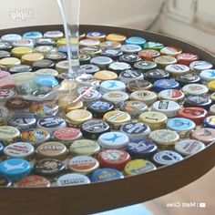Reuse all those beer bottle caps and tur - Diy Craft Ideas