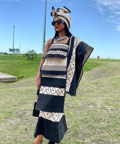 People from all over the world are fast embracing the African TRENDY XHOSA ATTIRE fabrics andthe designers truly deserve some accolades African Print Dress Designs, African Print Dresses, African Print Fashion, Africa Fashion, African Dress, South African Traditional Dresses, Traditional Fashion, Traditional Outfits, Traditional Wedding