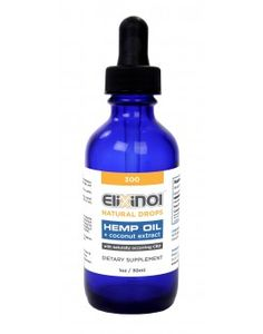 Elixinol 300 mg  CBD Tincture (30 ml) taste: Natural