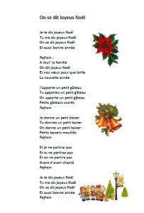 Chanson Noël On se dit joyeux Noël