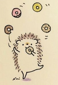 pictures drawing cute hedgehog: 5 thousand images found in Yandex. Cute Little Drawings, Cute Cartoon Drawings, Cute Animal Drawings, Doodle Drawings, Easy Drawings, Hedgehog Drawing, Hedgehog Art, Cute Hedgehog, Hedgehog Illustration