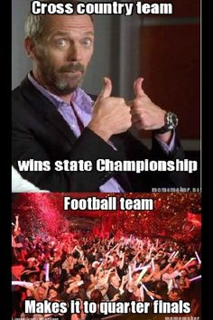 This annoys me so much! We're the only team to make it to state in the last 3 years and we don't get much!!