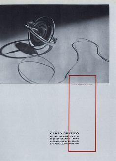 Campo Grafico - Nº.12 - Carlo Dradi, Attilio Rossi & Antonio Boggeri, December 1934