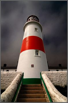 Souter #Lighthouse  -  located in the village of Marsden in South Shields, Tyne & Wear, #England.   -   http://dennisharper.lnf.com/