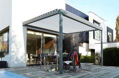 Toit de terrasse à lames orientables motorisées  http://www.lapeyre.fr/catalogue.html?univers=cata-ext=287