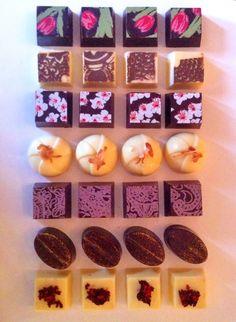 custom chocolate bon bon assortment