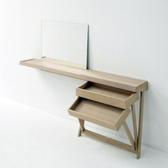 /-\ conceptual style dressing table desk inspiration