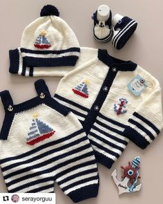 Best 12 Ready to ship Size Months Baby boy sweater anchor sweater wool cardigan knitted sweater merino – SkillOfKing. Baby Boy Knitting Patterns, Baby Cardigan Knitting Pattern, Knitting For Kids, Baby Patterns, Clothes Patterns, Wool Cardigan, Dress Patterns, Baby Boy Sweater, Baby Sweaters