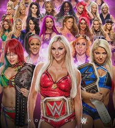 These are most of the women in WWE Wrestling Stars, Wrestling Divas, Women's Wrestling, Wwe Events, Wwe Girls, Wwe Ladies, Catch, Wwe Women's Division, Wwe Female Wrestlers
