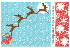"""""""He sees you when you're sleeping!"""" You'll want to make several of these GO! Holiday Pillowcases! They make such Great Gifts! Get the Pattern FREE and the is Die ON SALE through Cyber Monday!"""