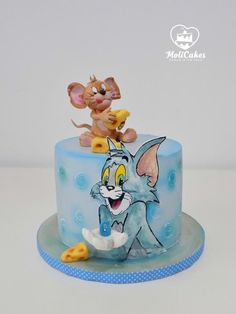 Tom and Jerry by MOLI Cakes