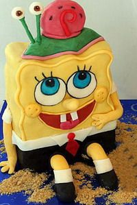 SpongeBob characters making tutorials