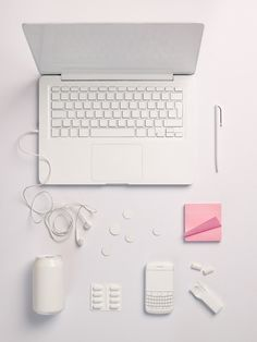 The objects of my profession: Social media manager. Still life Stylist Sarah Akwisombe, photographer Dan Annett
