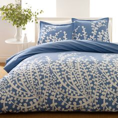 The City Scene Branches Duvet set adds modern flair to your bedroom. Duvet set features white branches over a solid background. Includes a duvet cover and two pillow shams (one for twin size). Blue Comforter, Blue Bedding, Duvet Cover Sets, Comforter Sets, Modern Bed Set, Duvet Sets, Twin Comforter Sets, Modern Bed, Blue Duvet Cover