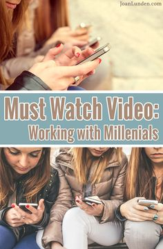 As a parent, employer, and a person living in this era where technology reigns supreme, I was blown away by Simon Sinek's video on millennials in the workplace! I recommend everyone watch this. It could not only change how you parent, but also your expectations of your adult children!