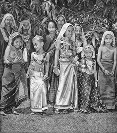 Children of the Sultan of Sumbawa Besar circa 1952