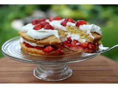 """For years I thought I thought I had the best shortcake recipe, an old one from Cuisine magazine that featured raspberries, but could be made with any berry. Then, last month, Bon Appétit sent an email intriguing titled """"The 1 Ingredient YourDesserts are Missing."""" That surprising ingredient turned out to be cooked egg yolks, which […]"""