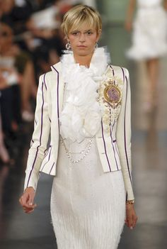 Ralph Lauren Spring 2008. My favourite must-own-someday blazer!! I wish I could find it in 2014