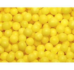 Yellow Lemon Mint Pearls: 5LB Bag