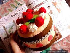Chocoberry Large Felt Cake Plush