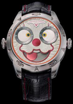 Turns out Konstantin Chaykin is a Stephen King fan! Here's the Konstantin Chaykin Clown watch, inspired by IT.