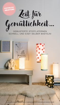 625 Best DIY * Basteln * Selbermachen images in 2020 Light Garland, Life Is Beautiful, Sweet Home, Presents, Creative, Fabric, Blog, Handmade, Inspiration