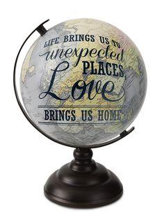 Amazon.com - Pavilion Gift Company 61009Home Decorative Globe, 10-3/4-Inch High -