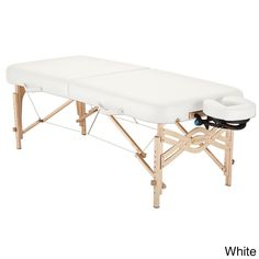 Earthlite Spirit Half Reiki/ Half Standard Panel 28-inch Portable Massage Table Package with Flexrest (