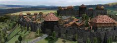 Explore the Medieval City Example and more by visiting our #CityEngine Resource Center. http://esri-link.com/ws2