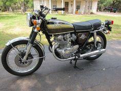 1972 Honda CB450 Unrestored-Original-Super Clean! - $4000 (Spring Branch)