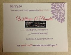 Invitation Set with template available (pic heavy) :  wedding coral diy invitation invitations orange purple template white RSVP