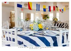 #rehearsal dinner  Nautical Theme  newport rehearsal dinner