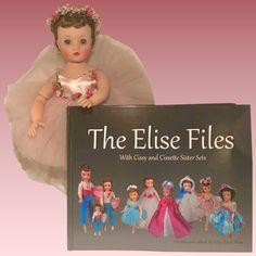 Madame Alexander vintage Elise Files Book