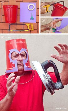 Low Budget X-Men. I think the look of the helmet has actually IMPROVED. Magneto always looked dorky in that thing...