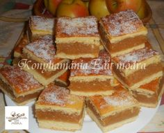 Érdekel a receptje? Kattints a képre! Hungarian Cake, Hungarian Recipes, Pita, A Pumpkin, Cake Cookies, Cornbread, French Toast, Muffin, Cooking Recipes