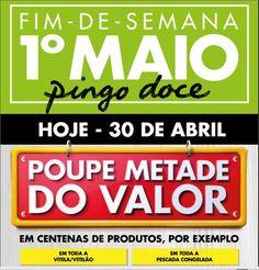 Promoções Pingo Doce Fim de Semana 1º Maio - http://parapoupar.com/promocoes-pingo-doce-fim-de-semana-1o-maio-2/