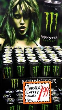 Monster Energy Drink may be linked to 5 deaths...
