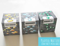 Minecraft favor boxes