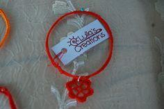 Collana Fiore Rosso handmade