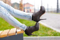 Mango boots, fashion, street style