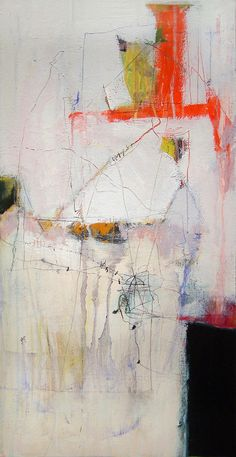 "plans: fix | 24x12"", acrylic, mixed media on canvas, 2007 cu… 