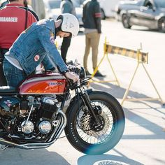 Honda CB750 Four #throttleroll #cb750 #cbcaferacer #cb750four