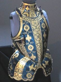 Armour of George Clifford, Third Earl of Cumberland, a gentleman of the court of Queen Elizabeth I