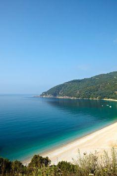 Lichnos shore, Parga, Epirus, Northern Greece
