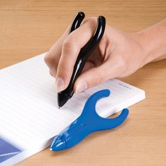 thick easy grip pen. Aids for daily living.  These are wonderful for students with handwriting issues.